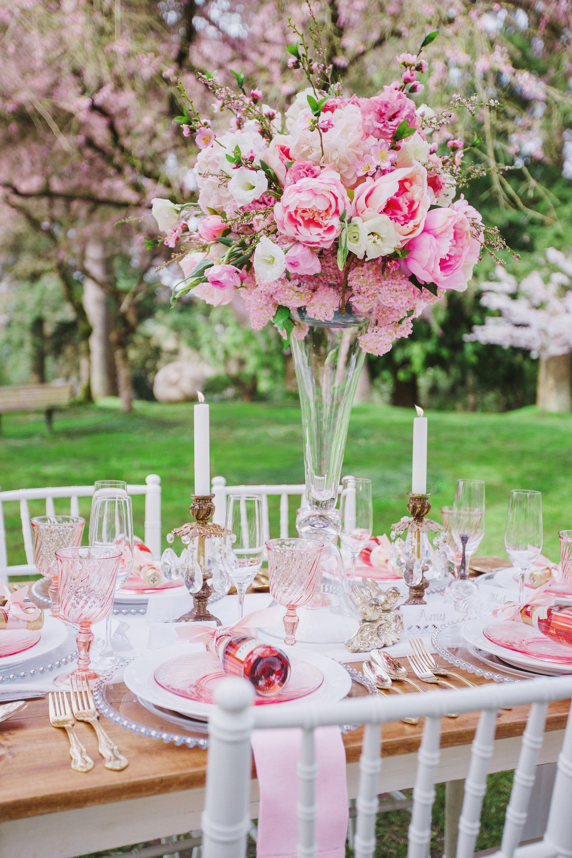 Wedding Romance under the Cherry Blossoms
