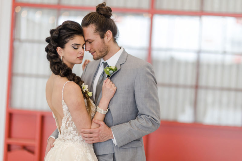 A Modern, Industrial, Boho Styled Wedding Photo Shoot in Denver, Colorado