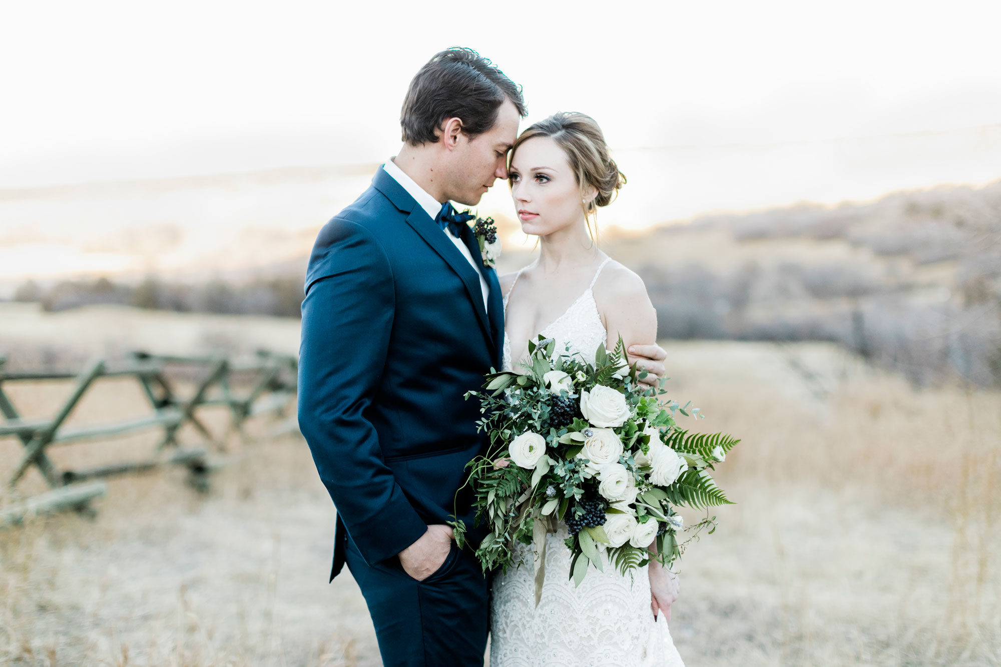 A Natural & Romantic Wedding Shoot in Colorado
