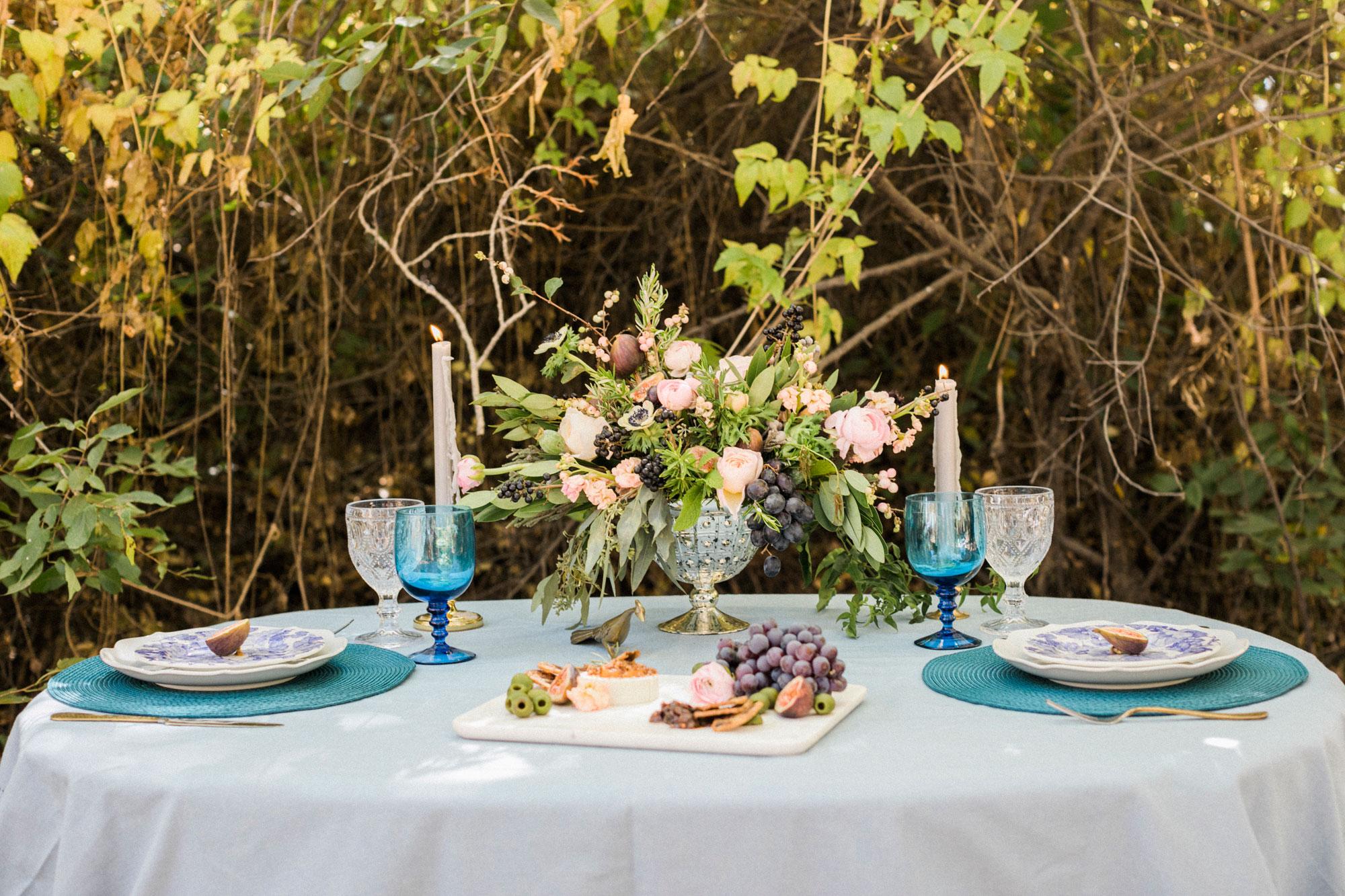 Roses In Garden: A Sophisticated Fall Wedding Shoot At Denver Botanic