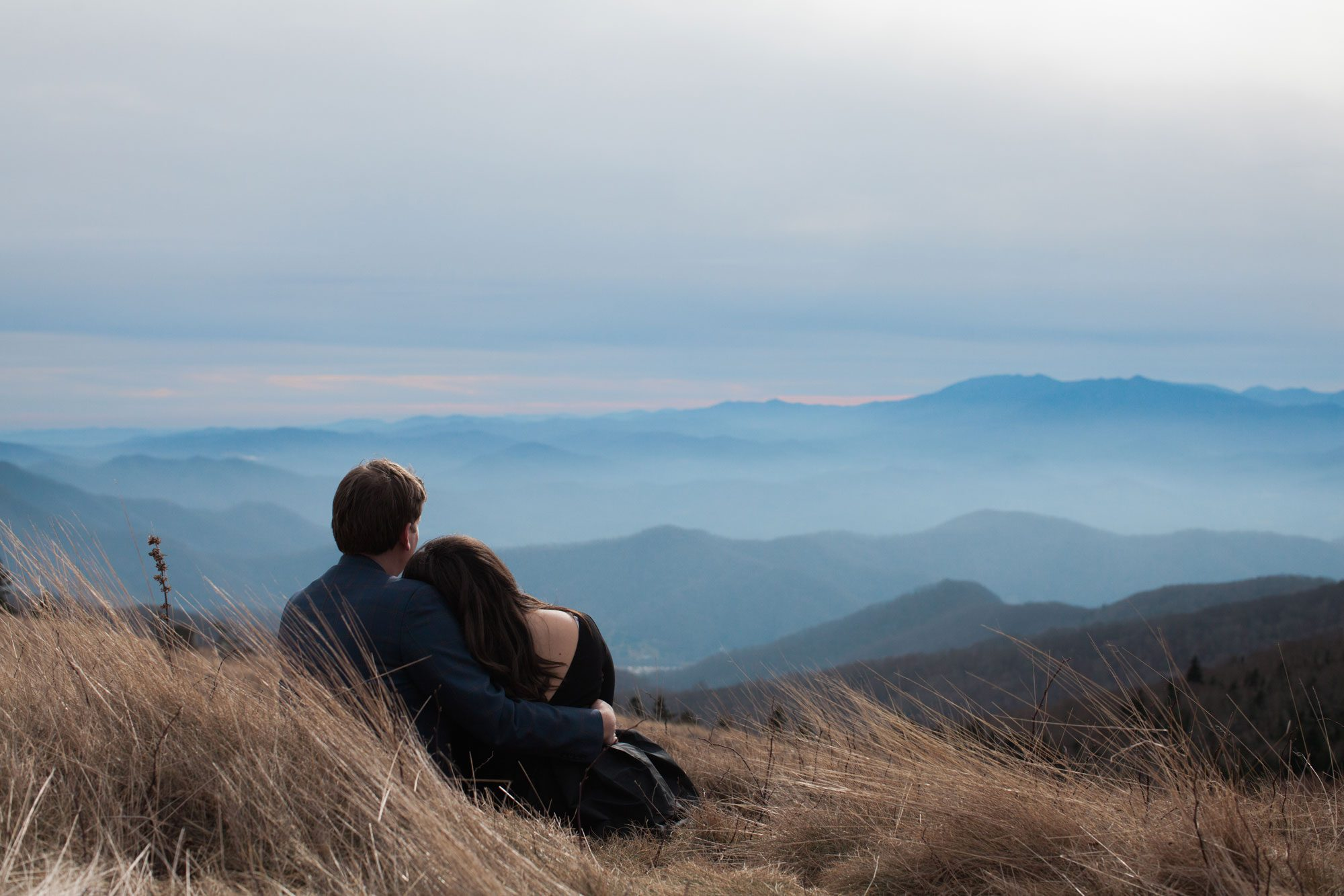 Tennessee Mountaintop Engagement Session