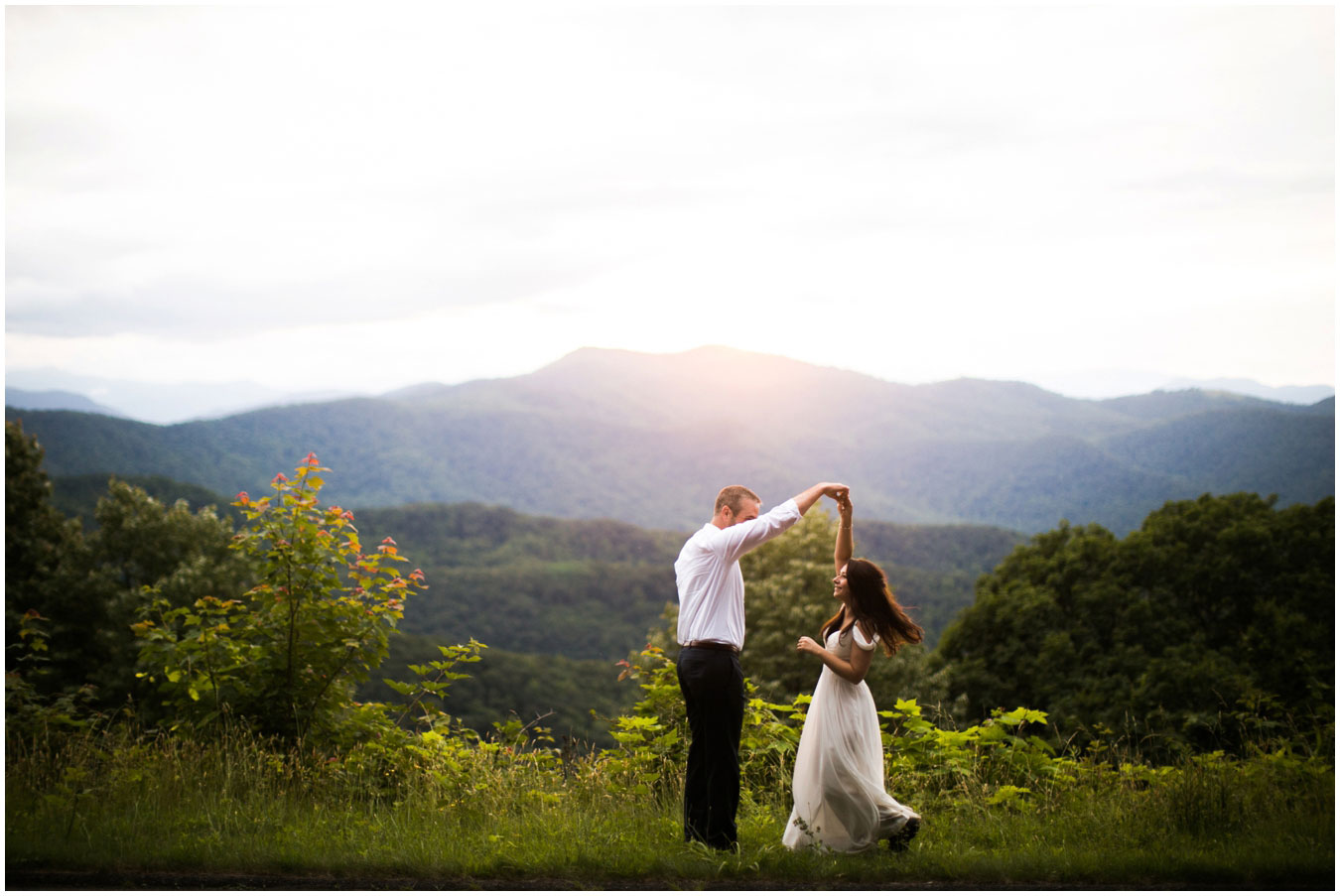 A Mountaintop Elopement in North Carolina