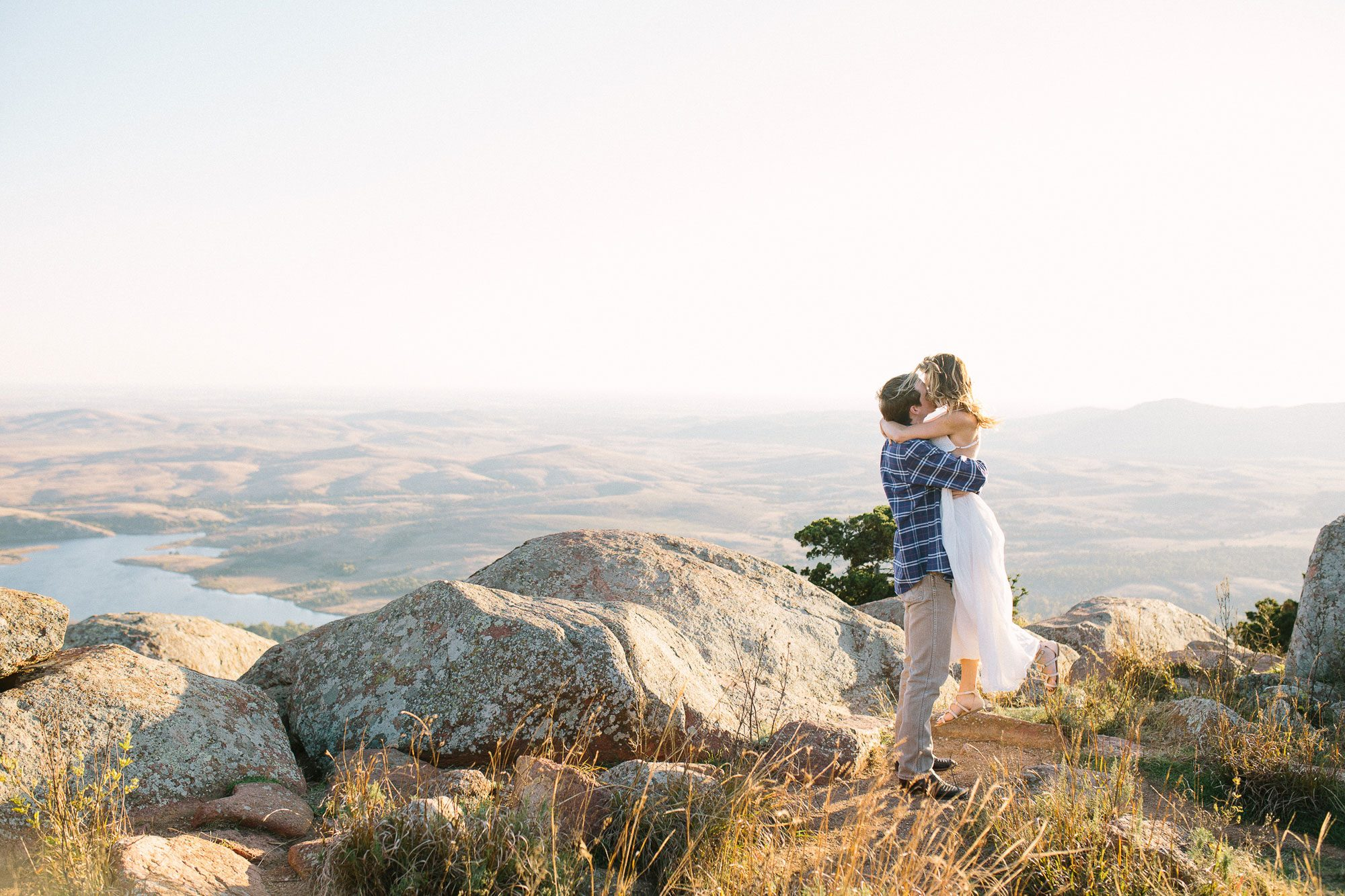 A Dreamy Mountain Engagement Shoot in Oklahoma