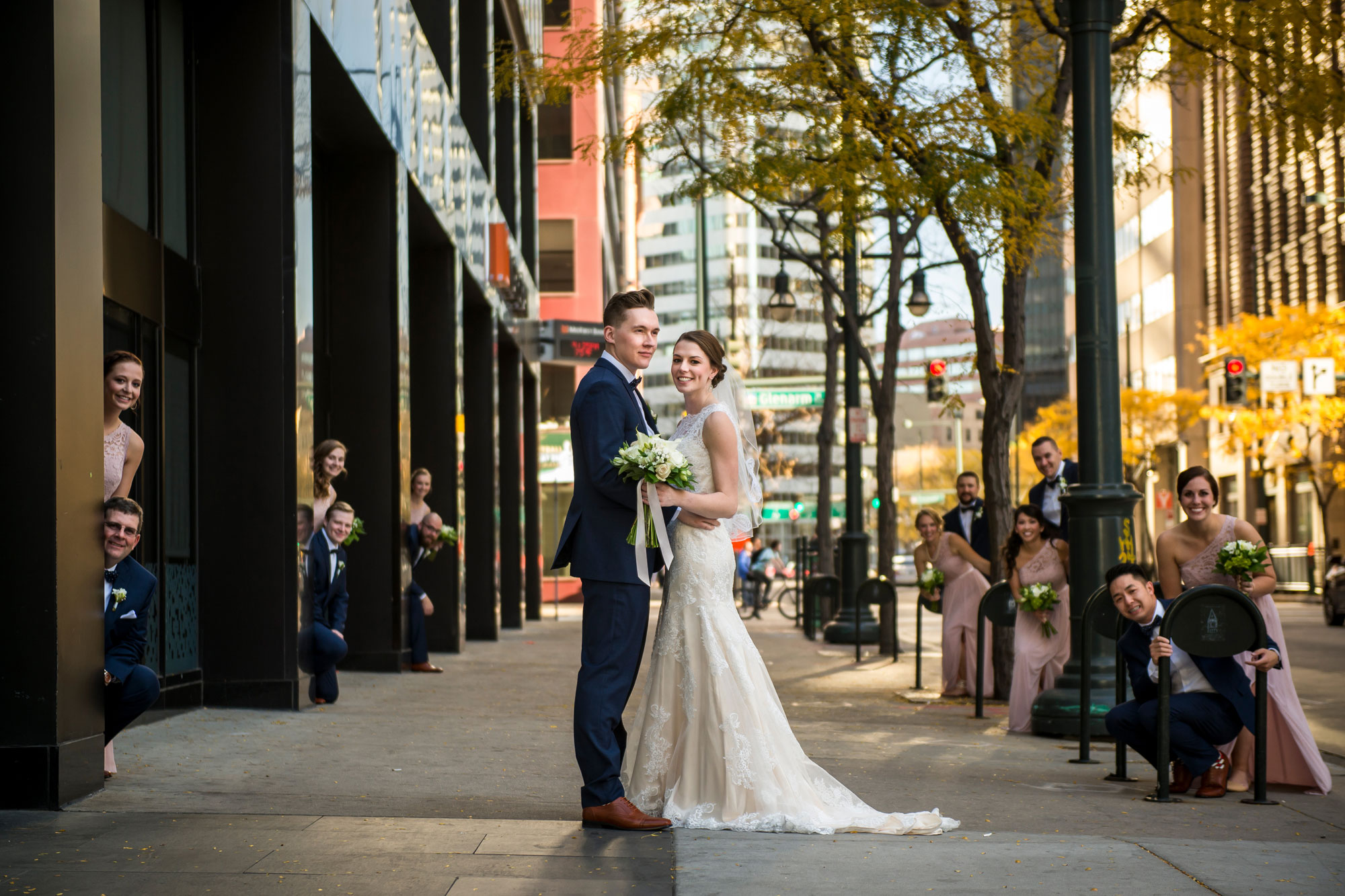 A Literary Themed Wedding in Downtown Denver, Colorado