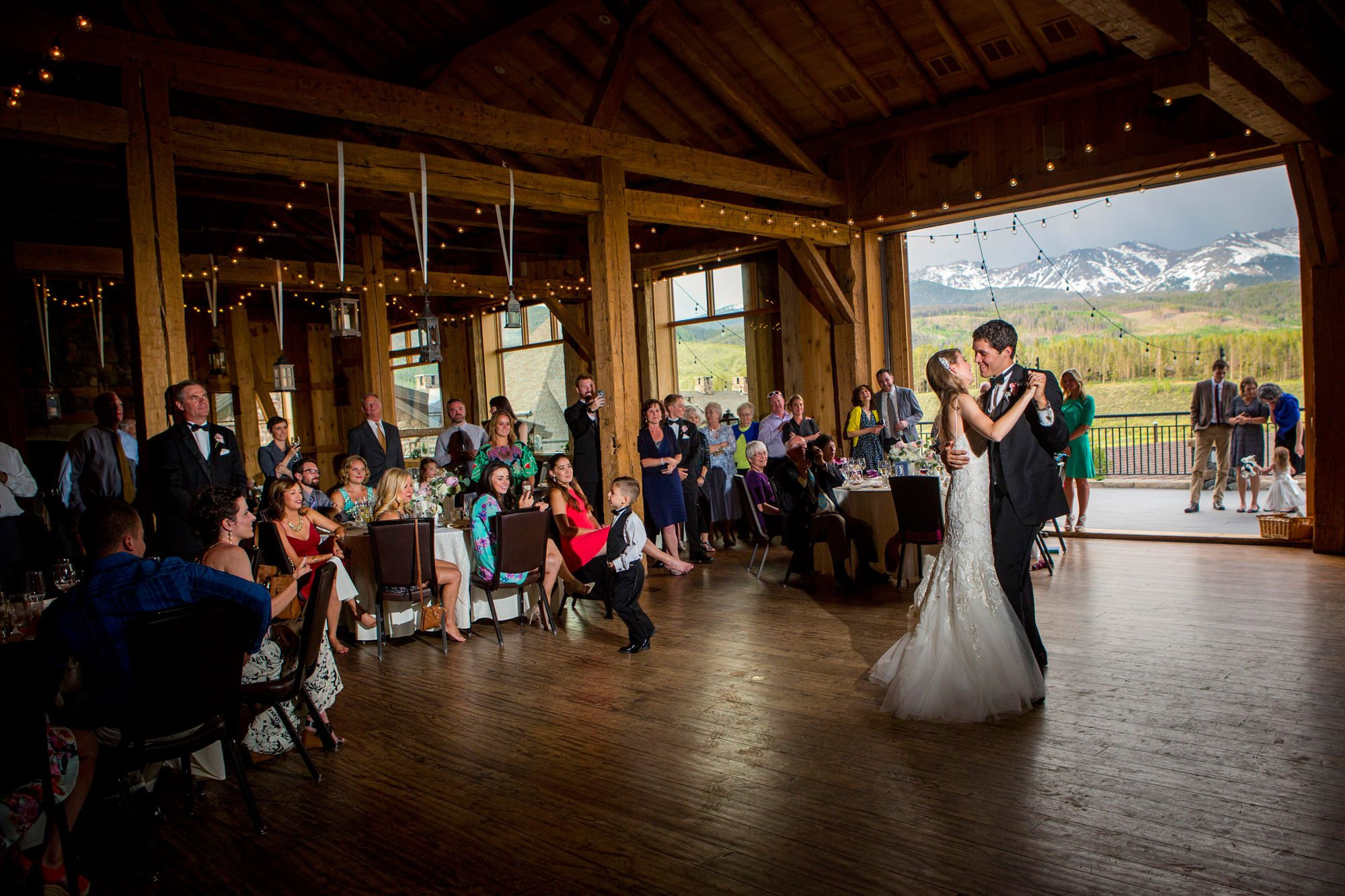 A Magical Colorado Ranch Wedding. Photographer: David Lynn Photography Event Planner & Design: JA Special Events |  Floral Designer: Statice Floral | Venue: Devil's Thumb Ranch