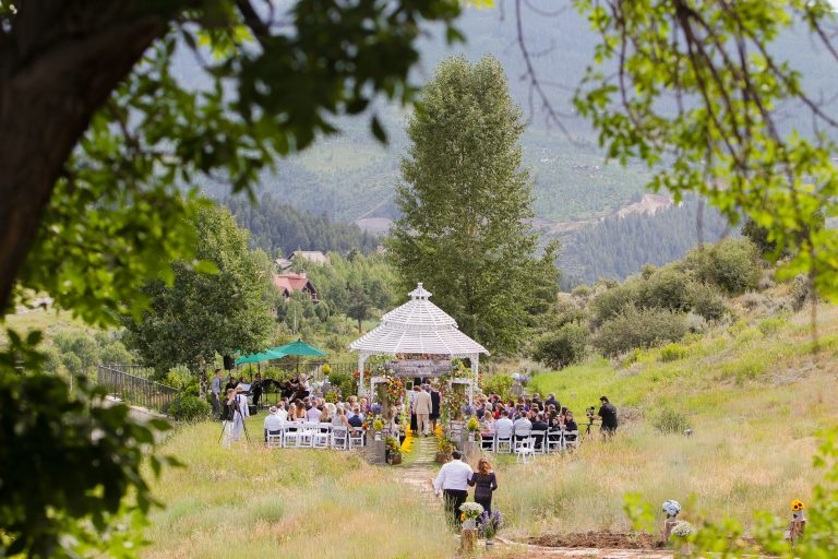 A Lush Secret Garden Mountain Wedding in Edwards, Colorado