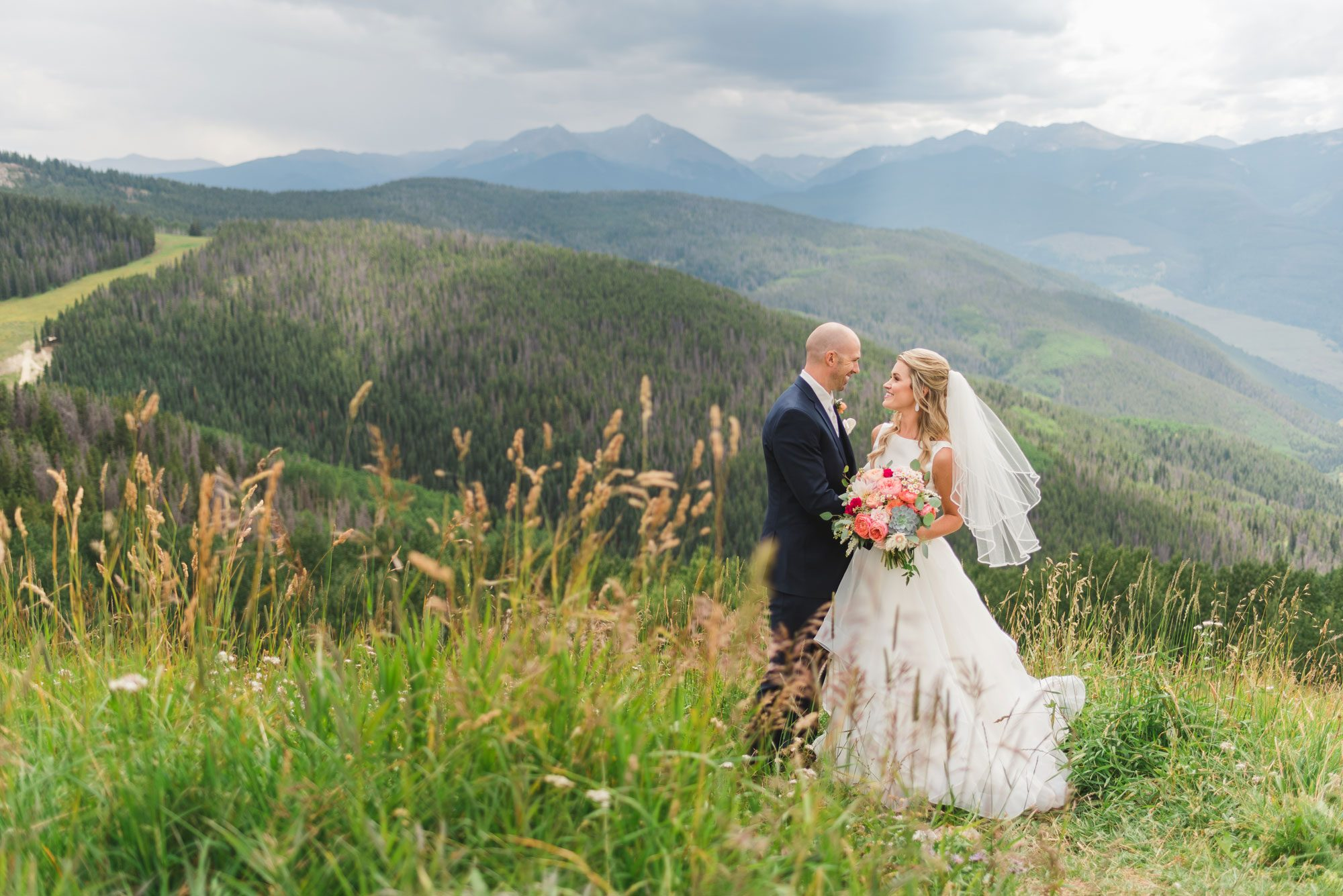 A Mountain Destination Wedding in Vail