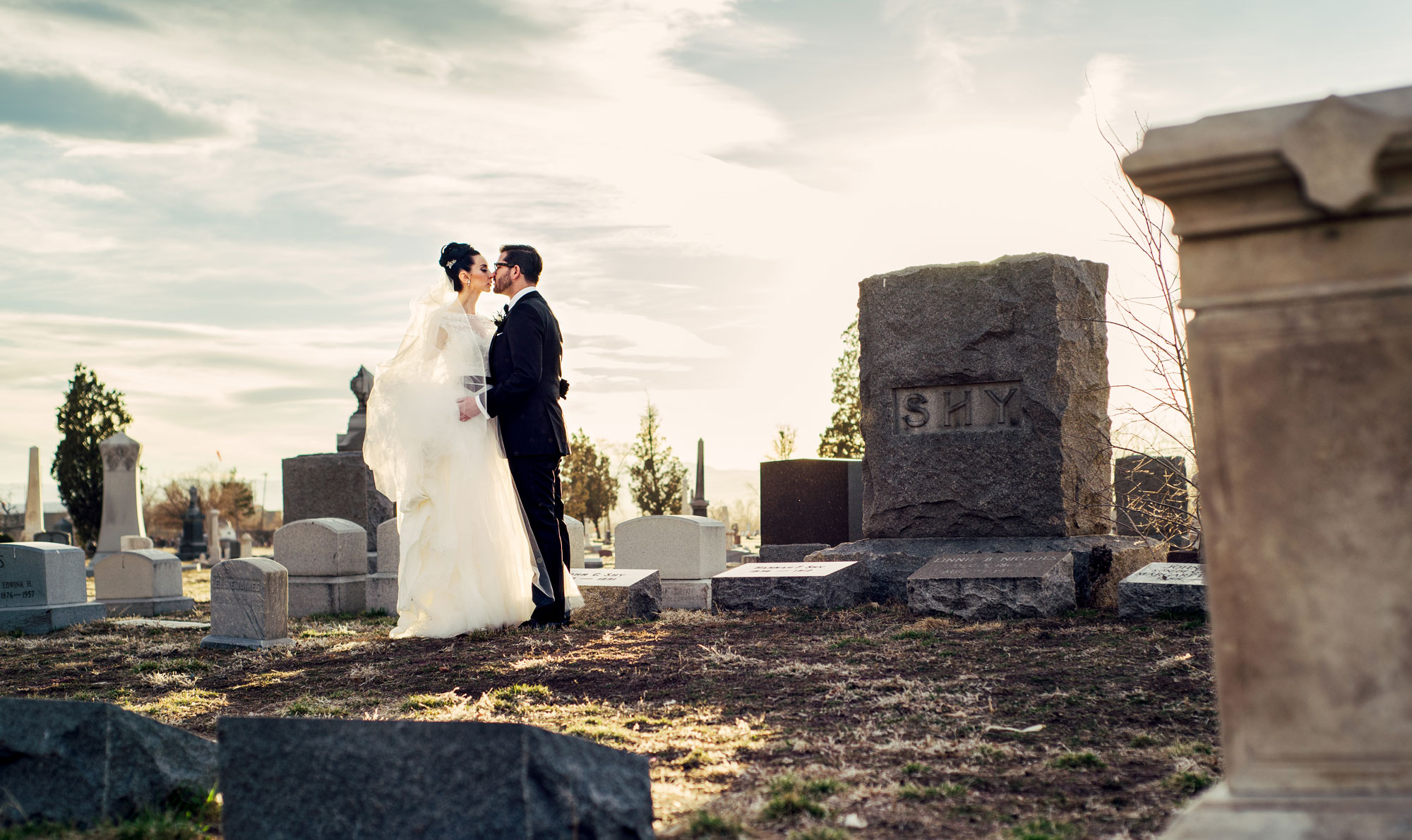 A Gothic Wedding in Denver, Colorado