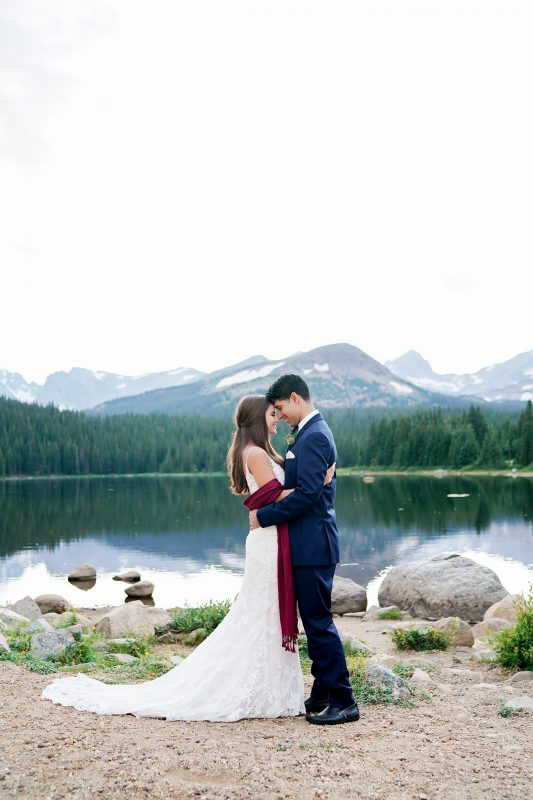 Brainard Lake Rocky Mountain Wedding Inspiration, Colorado