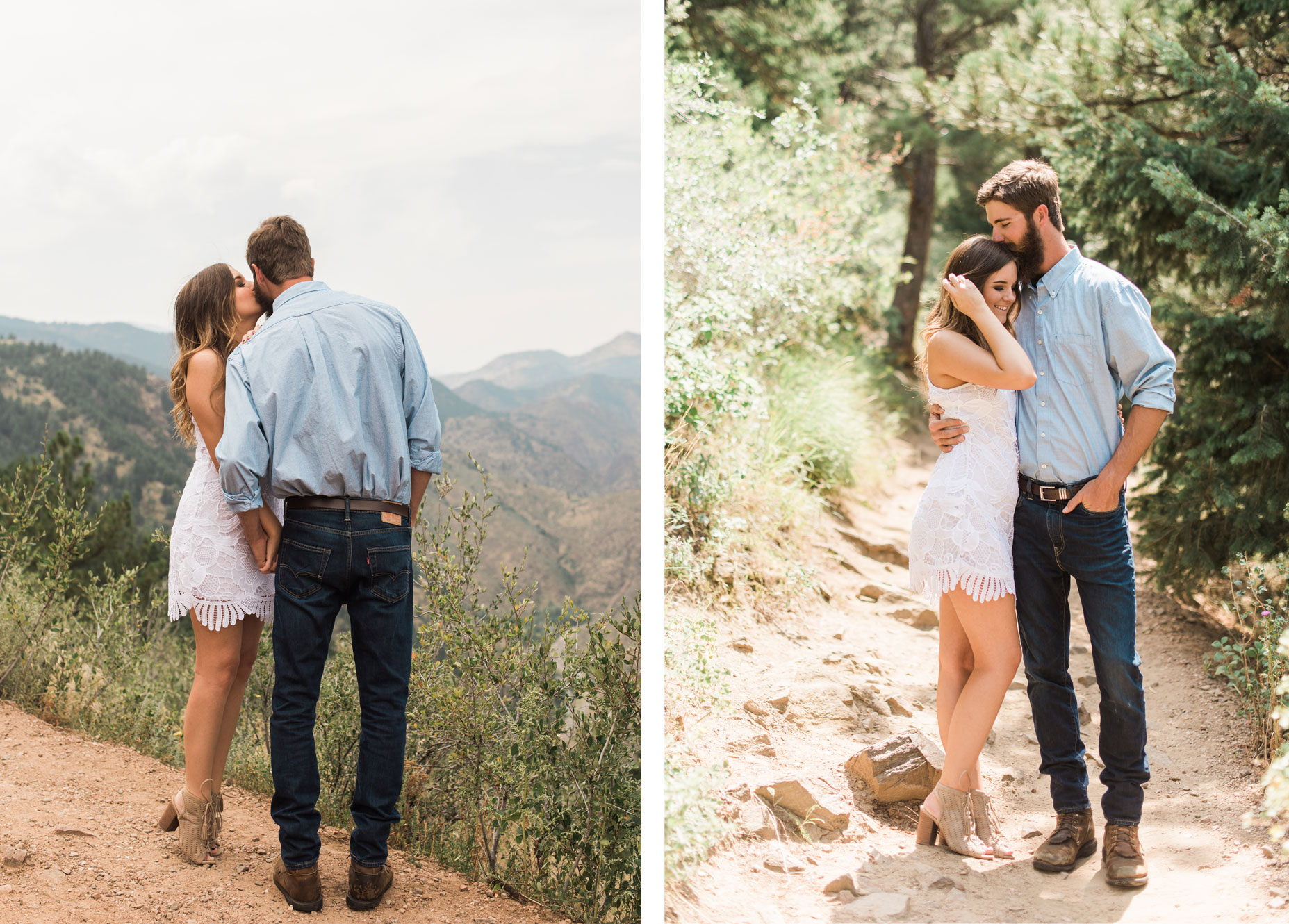 A Colorado Rocky Mountain Engagement