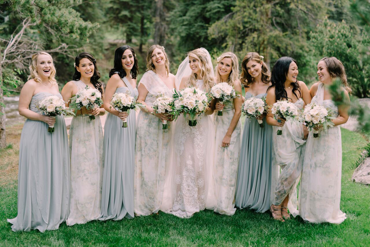 A Mountain Glam Destination Wedding in Vail, Colorado