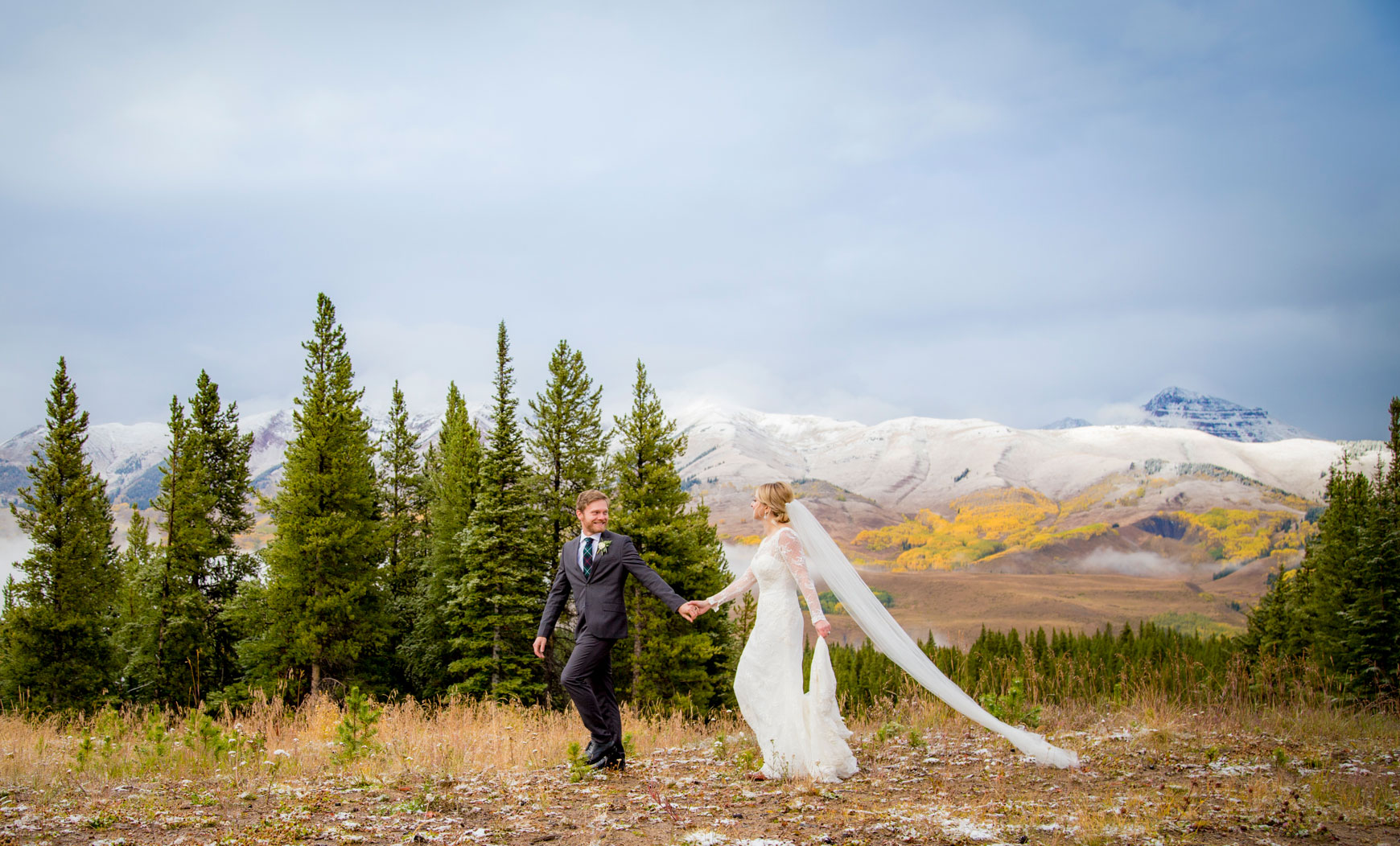 A Snowy Fall Wedding in Crested Butte, Colorado