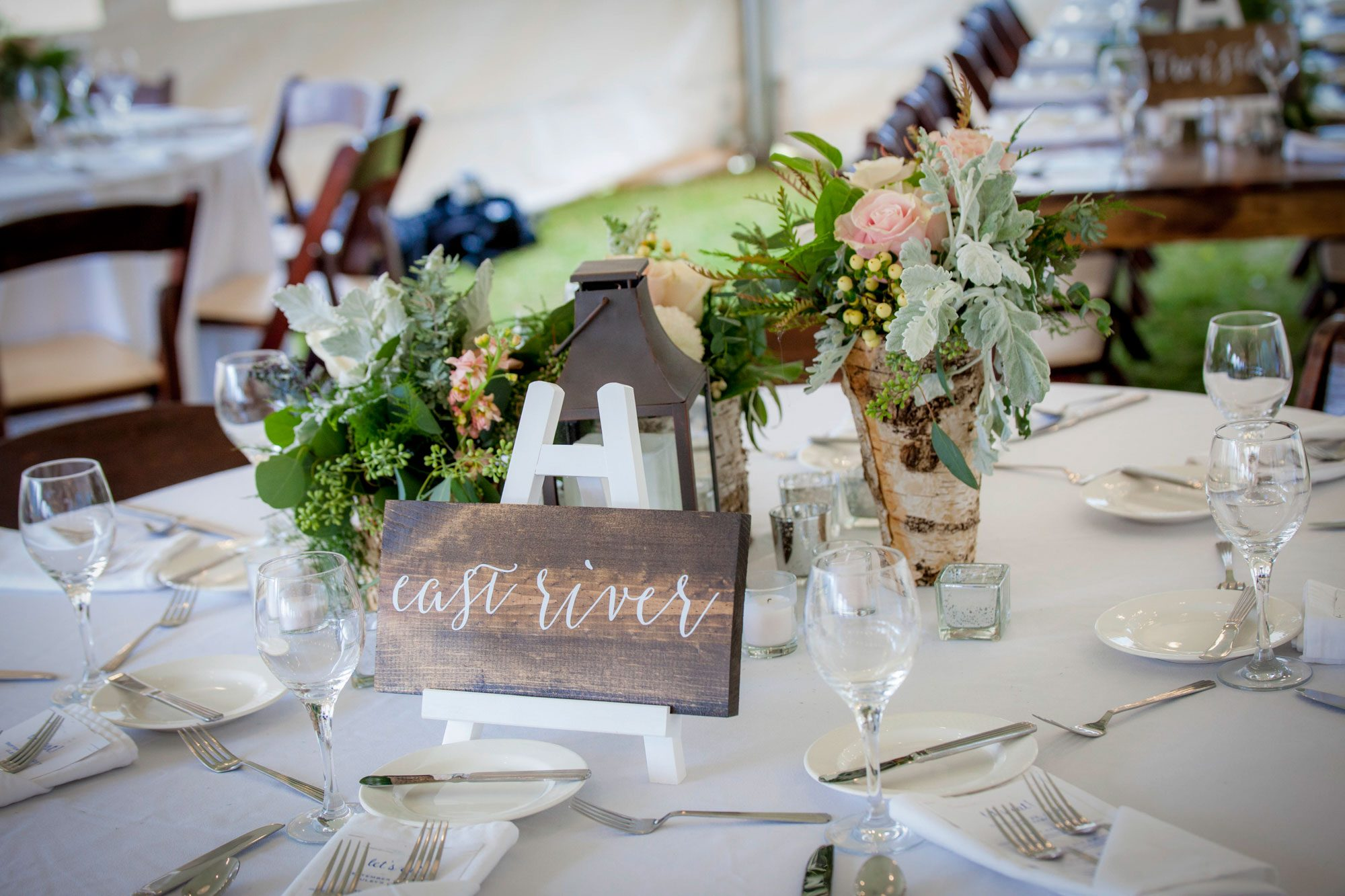 Tablescape at Crested Butte Mountain Resort, Colorado