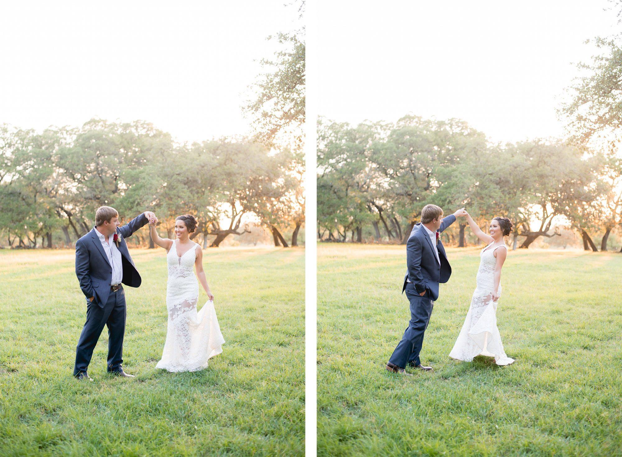 Texas bride & groom