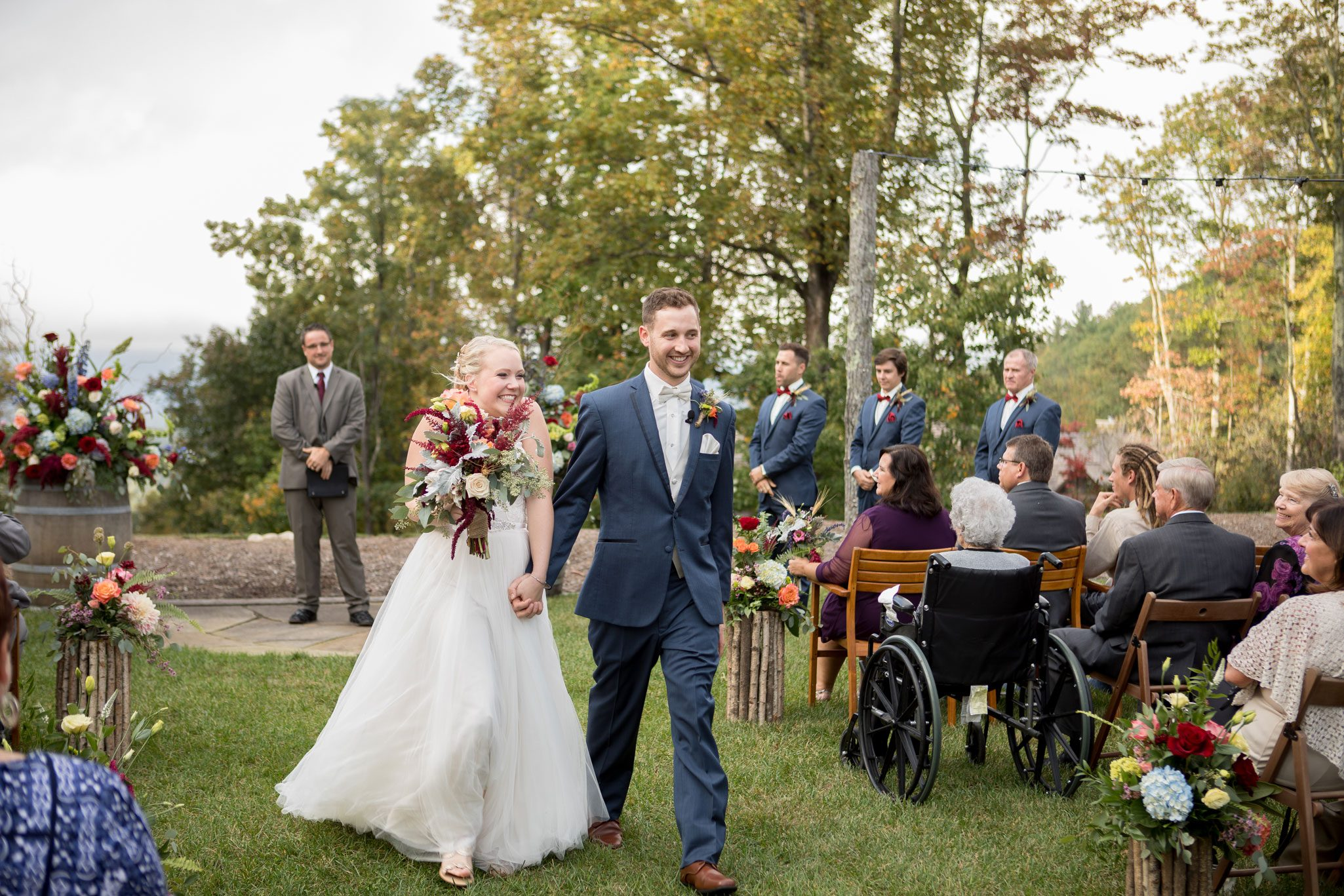 After the I Do's - Blue Ridge Mountain Wedding, North Carolina