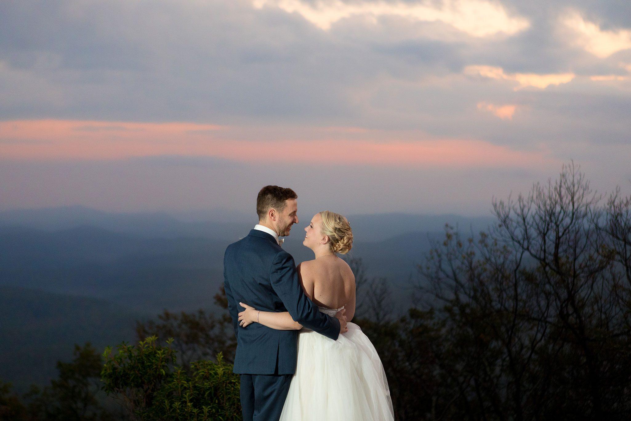 A Perfect Blue Ridge Mountain Wedding