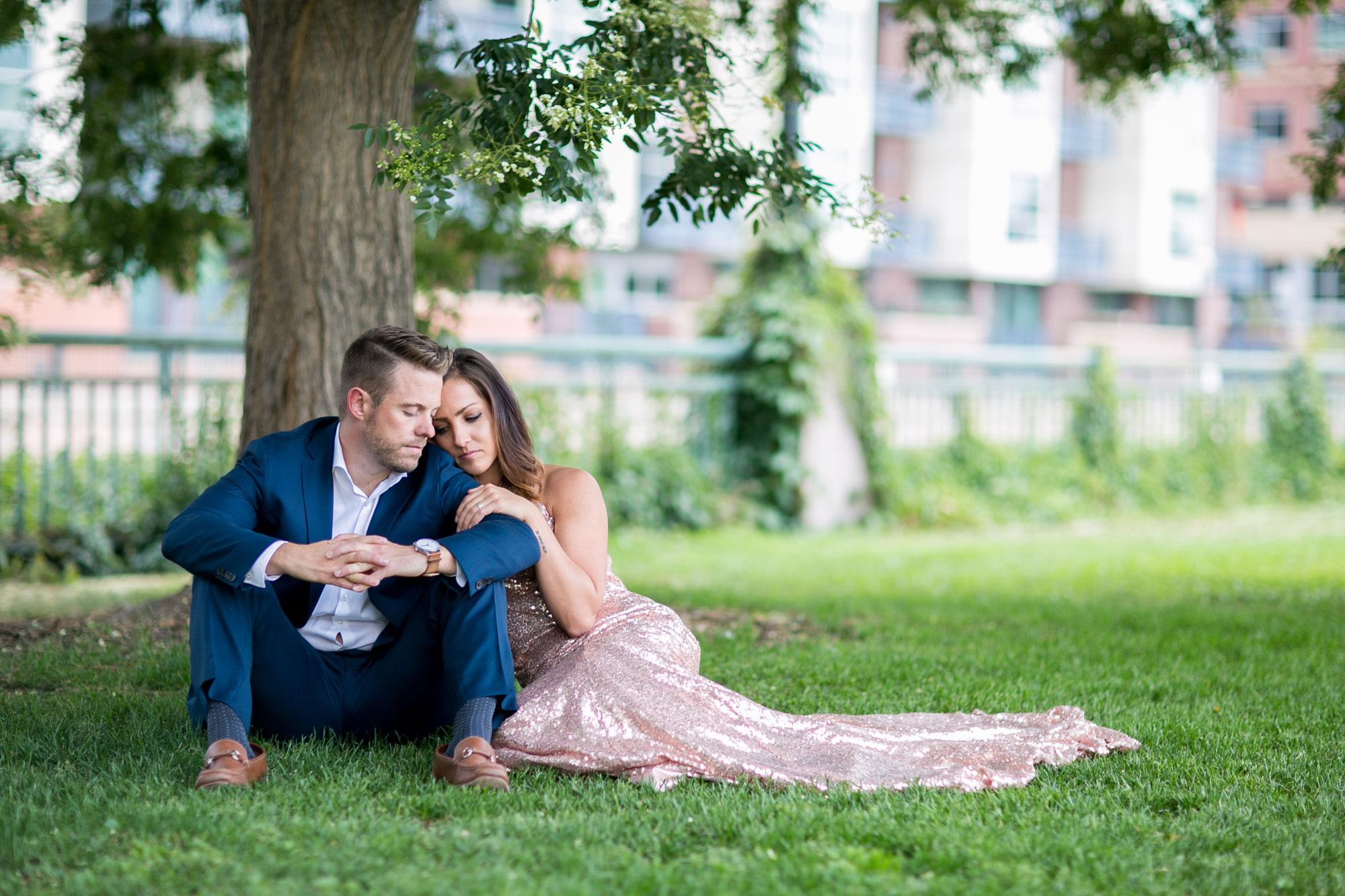A Romantic Denver Engagement Session