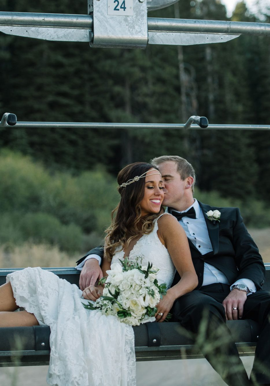 A Mountain Destination Wedding at Lake Tahoe