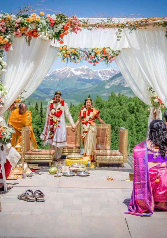 Crested Butte, Colorado Hindu Wedding