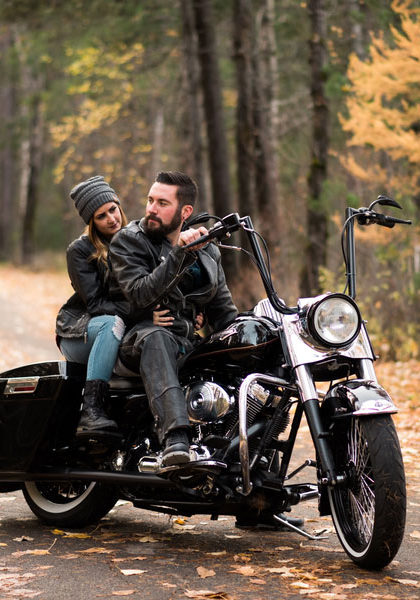 Fall Motorcycle Engagement Session0101
