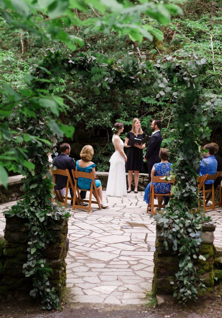 An Intimate Wedding in Great Smoky Mountain National Park, Tennessee