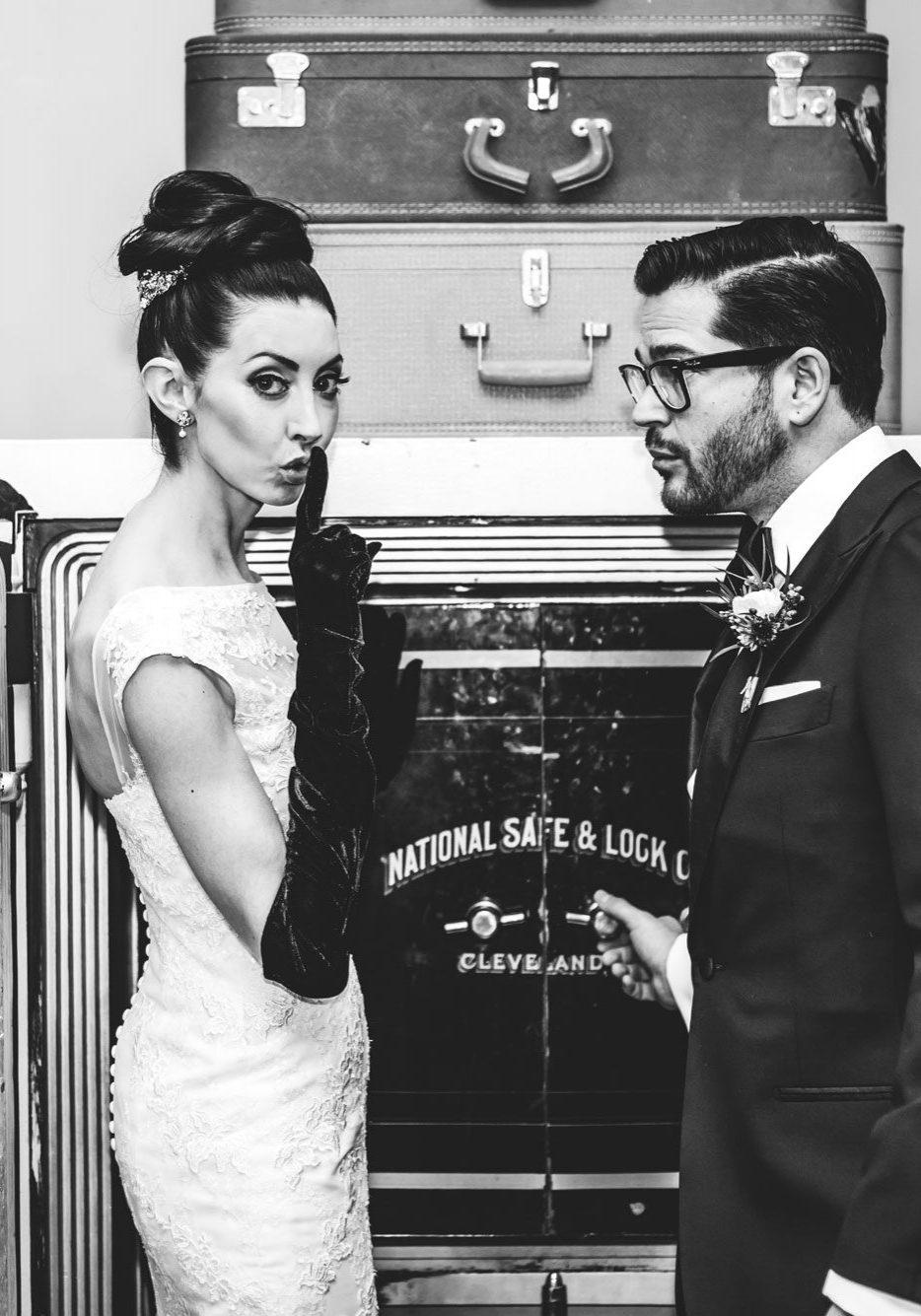 Gothic Denver wedding