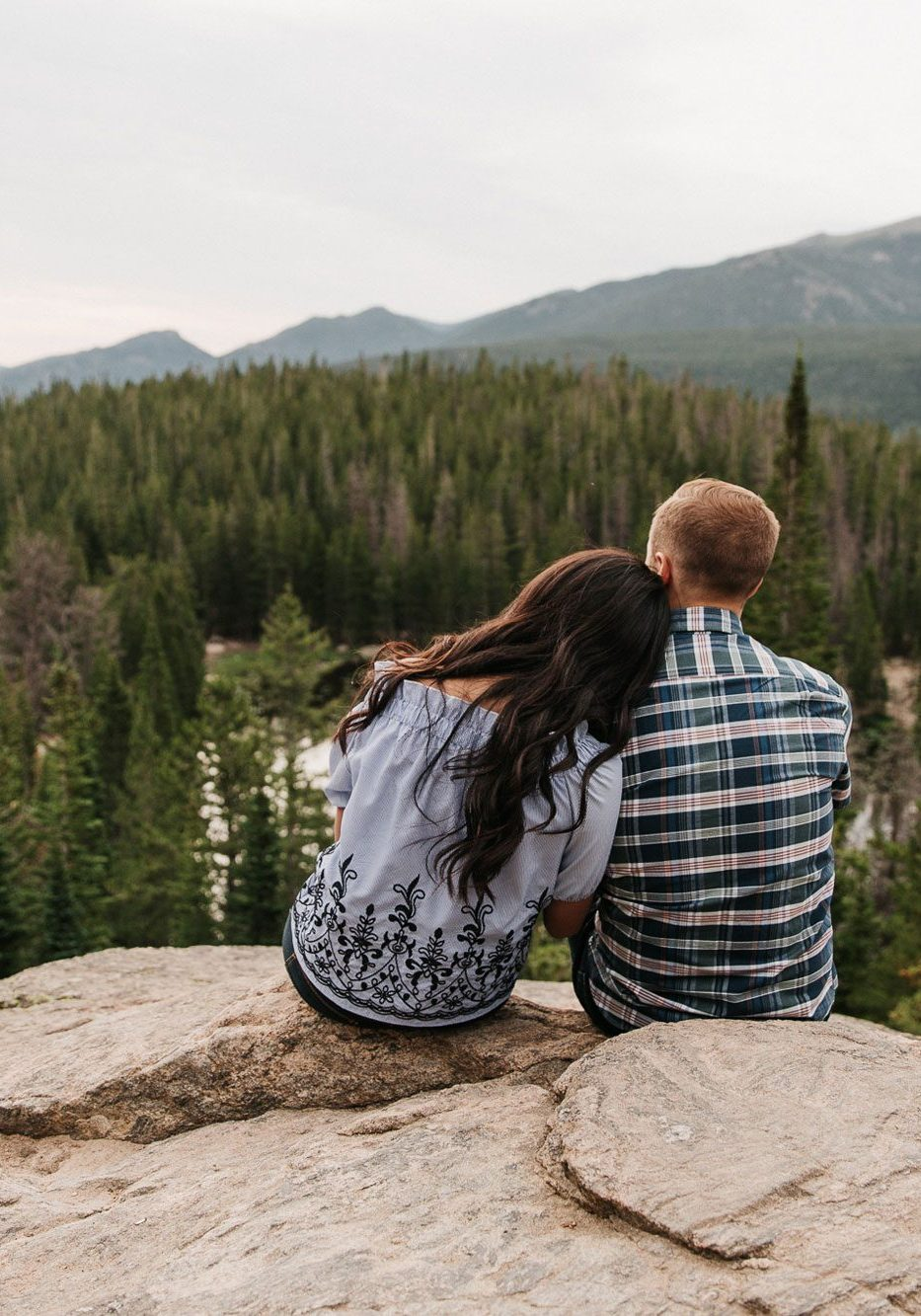 An Engagement Hike in Rocky Mountain National Park, Colorado