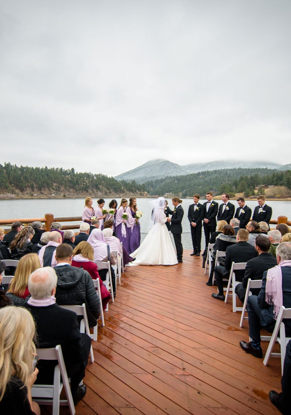 A Casual Colorado Wedding at Evergreen Lake House