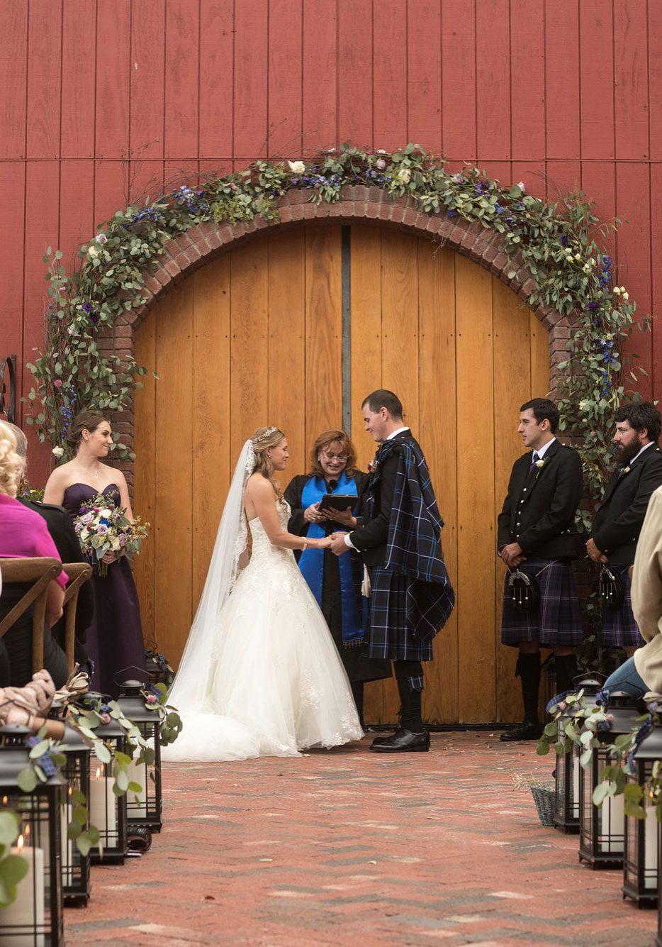 A Scottish Inspired Wedding in Colorado