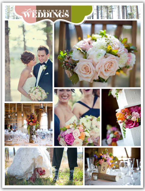 Colorado Wedding in Luxe Mountain Weddings Magazine