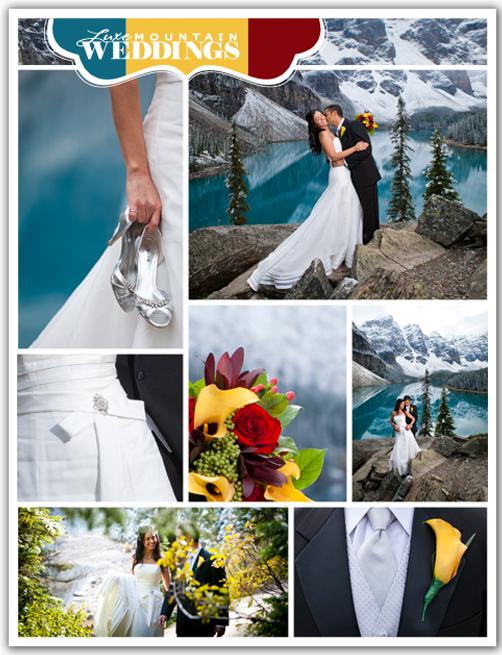 Moraine Lake Wedding in Banff Canada