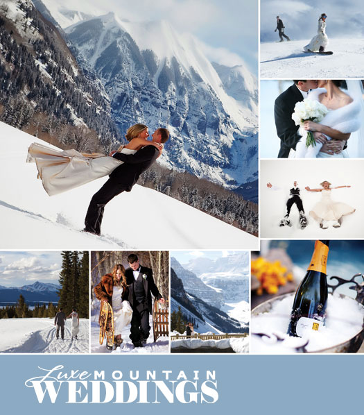 Magazine: Luxe Mountain Weddings