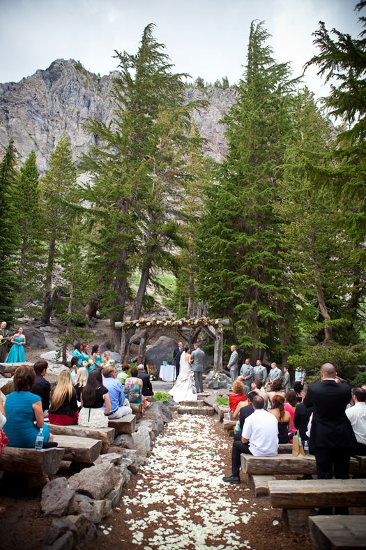 Forest Vows In Mammoth Lakes Luxe Mountain Weddings