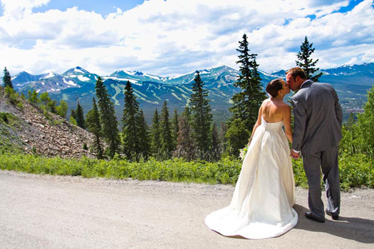 Weddings in the Rocky Mountains of Colorado