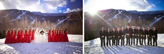 Double Wedding in Stowe, Vermont
