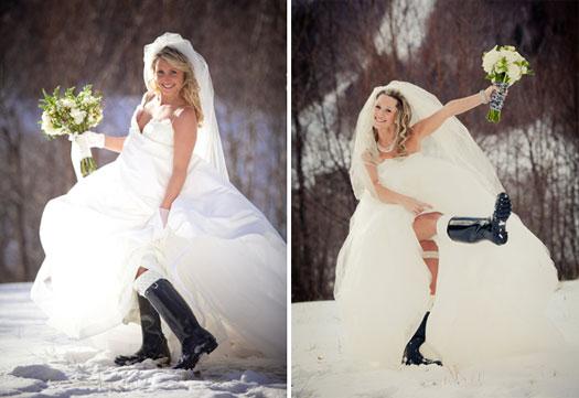 Double Wedding in Stowe, Vermont