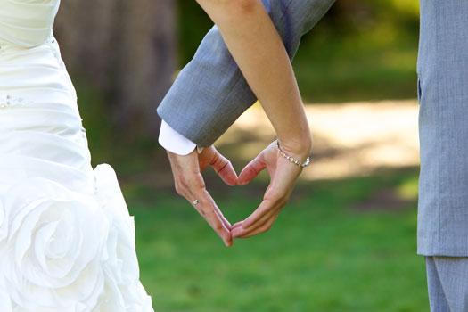 A country wedding in Idaho