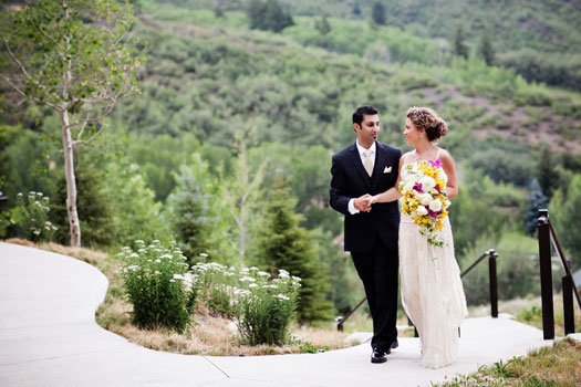 A Colorful Wedding in Snowmass, Colorado