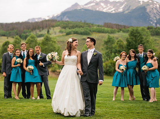 Mountain Climbers Tie the Knot in Silverthorne, Colorado