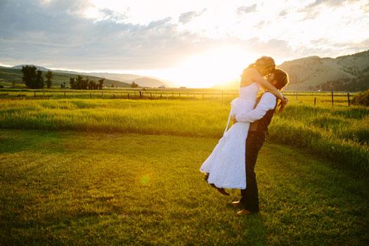 A Montana Mountain Ranch Wedding