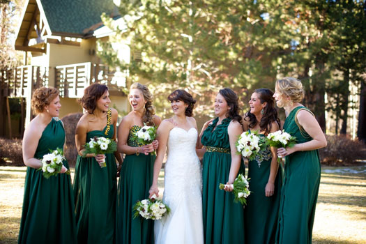 A Lake Tahoe Winter Wedding Soiree