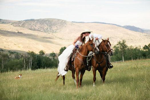 A Montana Ranch Wedding