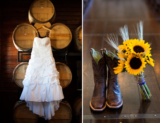 A Rustic Wedding in Colorado