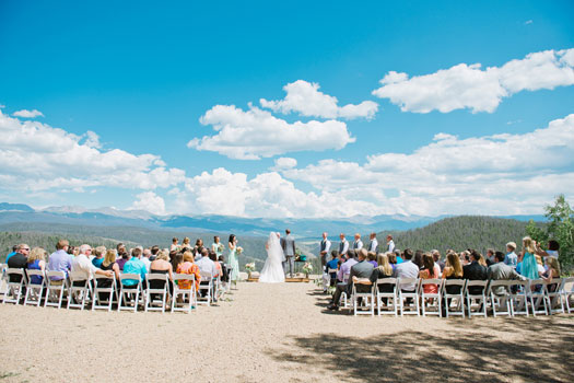 A Colorado Mountaintop Wedding