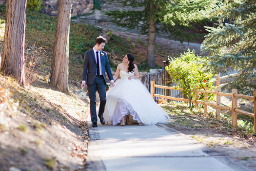 Rustic Whimsy Wedding in Lake Arrowhead, California