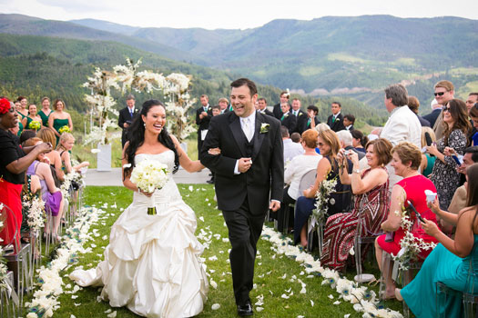 An Elegant Rocky Mountain Wedding