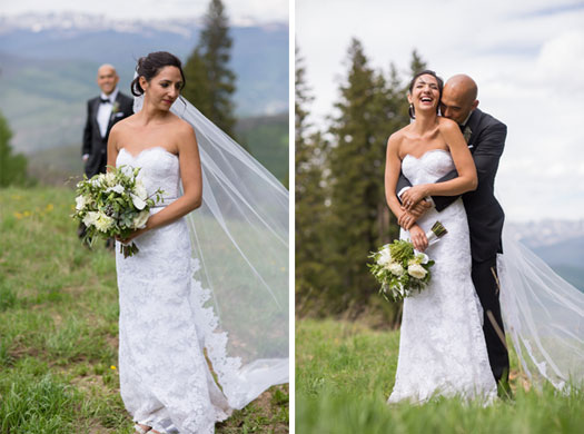 A Destination wedding in the mountains of Beaver Creek, Colorado
