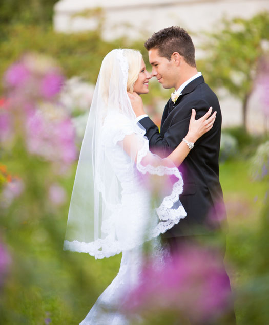 A Garden Wedding in Salt Lake City, Utah