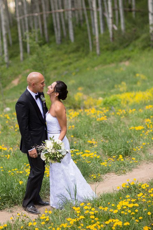 A Rocky Mountain destination wedding in Beaver Creek, Colorado