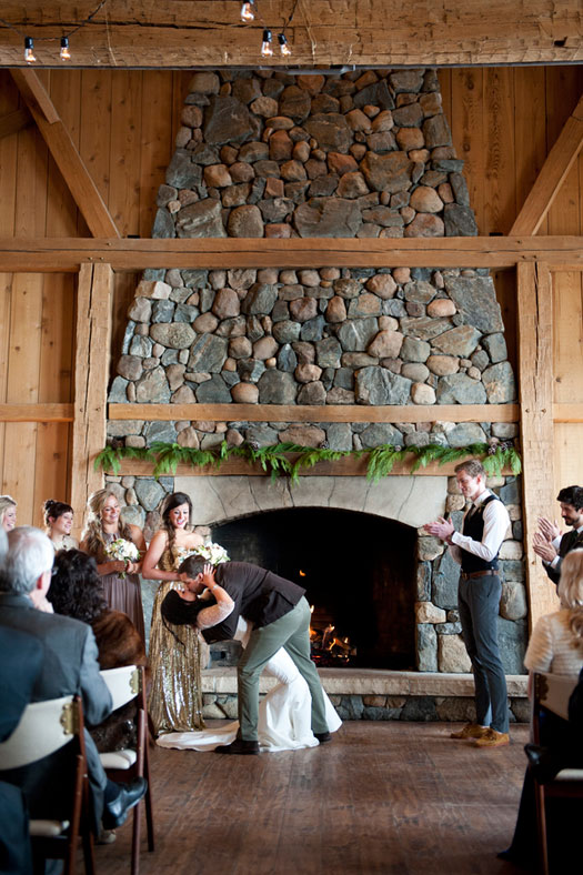 Vintage Rustic Glam wedding in Colorado